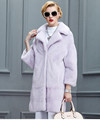 Factory Custom Mink Fur Coat More Color Available