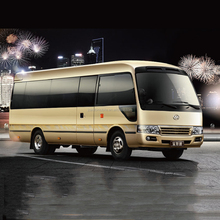 Low price 20-25 seats city bus luxury dongfeng mini van bus for sale