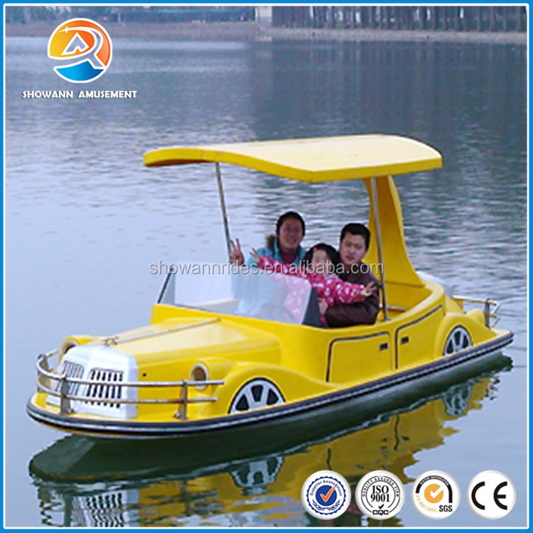 Execellent quality battery driven car design electric boat for sale
