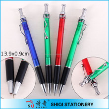 new china products for sale New design wave clip ball pen