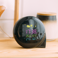 LED digital alarm clock with calendar and temperature display for office
