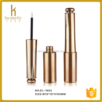 Fashional cosmetic new design plastic packaging eyeliner tube containers