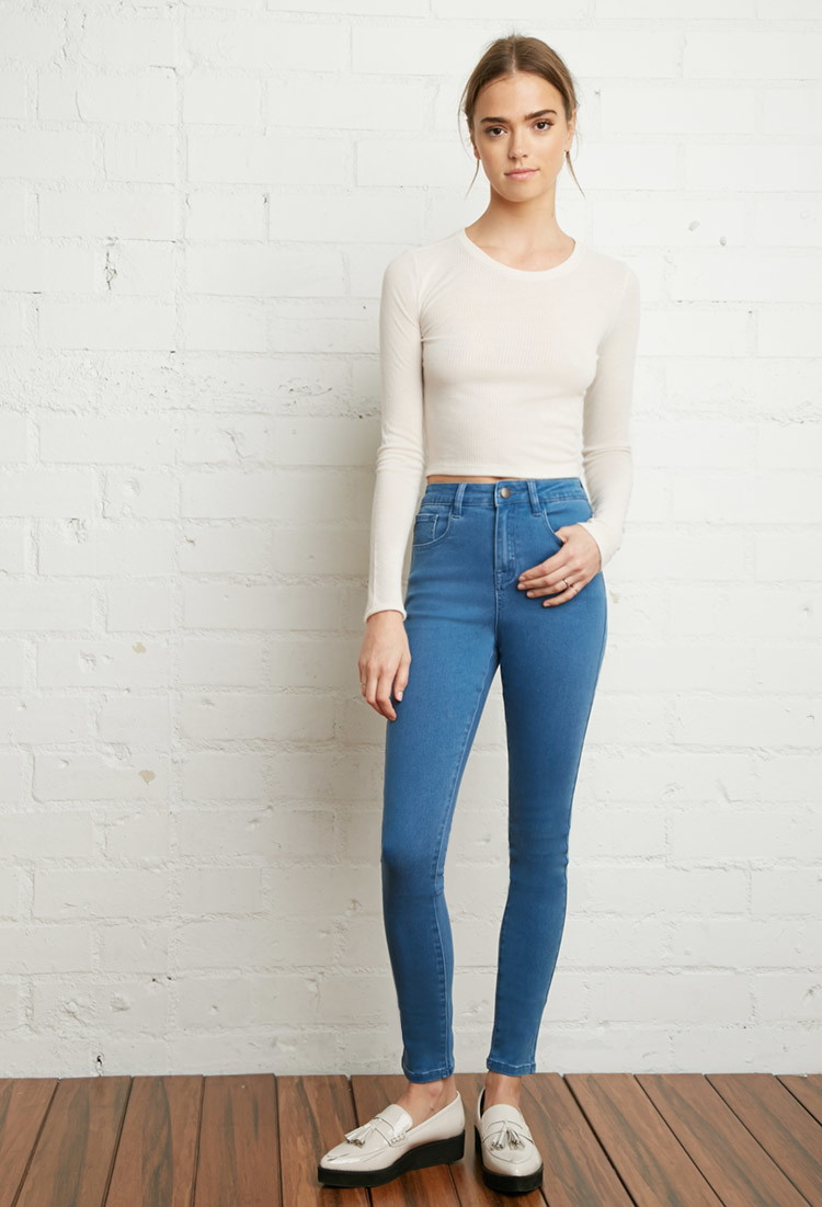 High Waisted Skinny Jeans For Kids - Xtellar Jeans