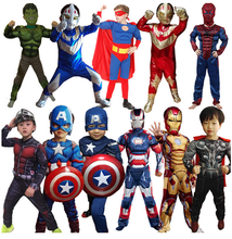 Wholesale 2016 superhero new children product Halloween costumes for kids