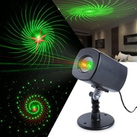 Full sky shooting Outdoor 120V Waterproof Christmas Tree Projection Laser Light For Garden Party Decoration