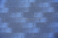 Waterproof Roofing Material , Single layer Asphalt Shingles