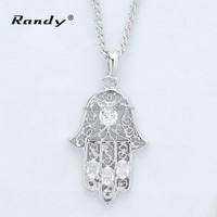 New Products On China Market Girl Boy Hand Shaped Pendant Jewelry Teething Necklace