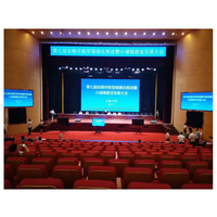Paper thin full color indoor p2 led display screen stage rental use 512*512mm cabinet