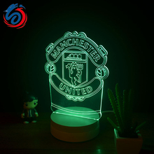 Manufacturers wholesale new creative night light bedside lamp decorative lamp LED lamp modern 3D