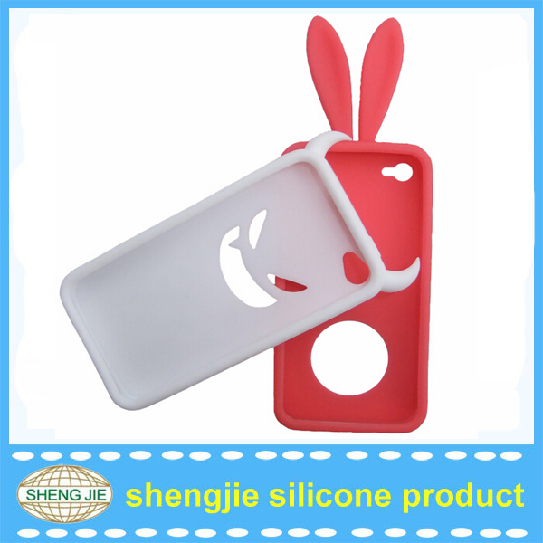 Eco-friendly custom mobile phone animal silicone design cell phone case