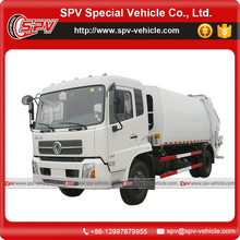 Dongfeng kingrun brand 12cbm waste compactor truck