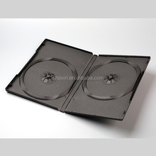 14mm black single/double dvd case for xbox 360 games