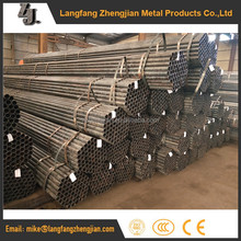 black ERW tubing factory weight ms round iron pipe supplier