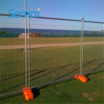 O/A payment concrete temporary fence feet for sale