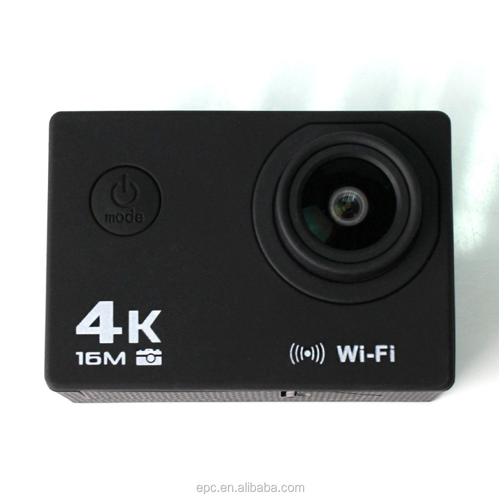 2017 hottest product single screen 2inch 4k sport video camera