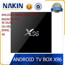 NAKIN 2016 Smart Android 5.1 TV Box M12 Pro best upgrade media player firmware android smart tv box 4.1 set up box