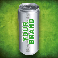 Energy Drink With YOUR BRAND
