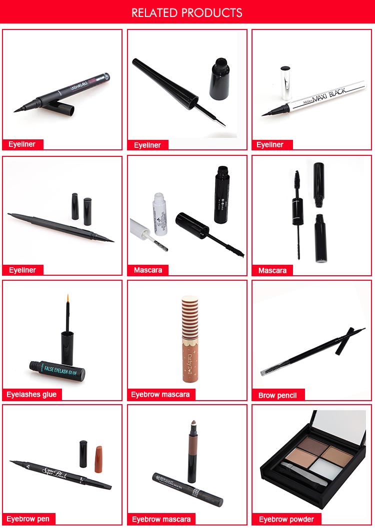 Eyeliner Manufacturing in China Kundenspezifischer Liquid Eyeliner Pen