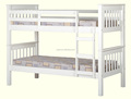 Good quality pupolar pine wood triple bunk bed for UK
