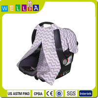 Fashion design nursing infant carseat canopy cover baby car seat canopy cover