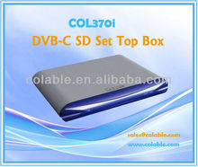 digital to analog tv converter box,TV decoder,digital cable tv set top box/SD STB COL370i