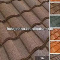 Color Stone Steel Coated Metal Roof Tiles