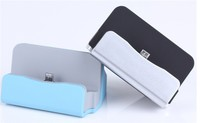 High quality mobile phone docking station with data transfer for iphone5/se/6/6s