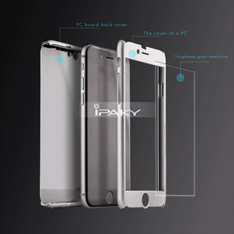 Ipaky 360 Degree Full Body Phone Case for iPhone 6s Plus 5.5inch