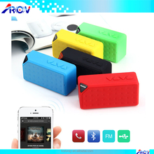 Genuine quality mini travel speaker,car blue tooth handsfree speaker,mini waterproof BT speaker X3 with your LOGO