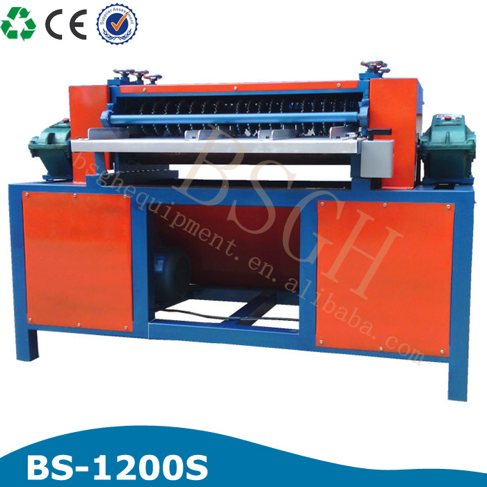 Buyer in Holland heave duty recycling equipment air condition radiator recycling machine car radiator separating machines