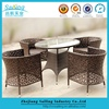 New Excellent Lowest Price Outdoor Furniture Rattan Garden Table And Chairs