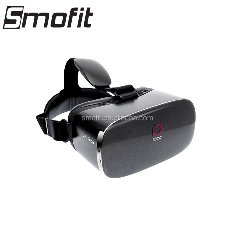 Popular all in one vr DeePoon E2 vr google with a 75 Hz FPS, 120 degree FOV high immersion from Smofit