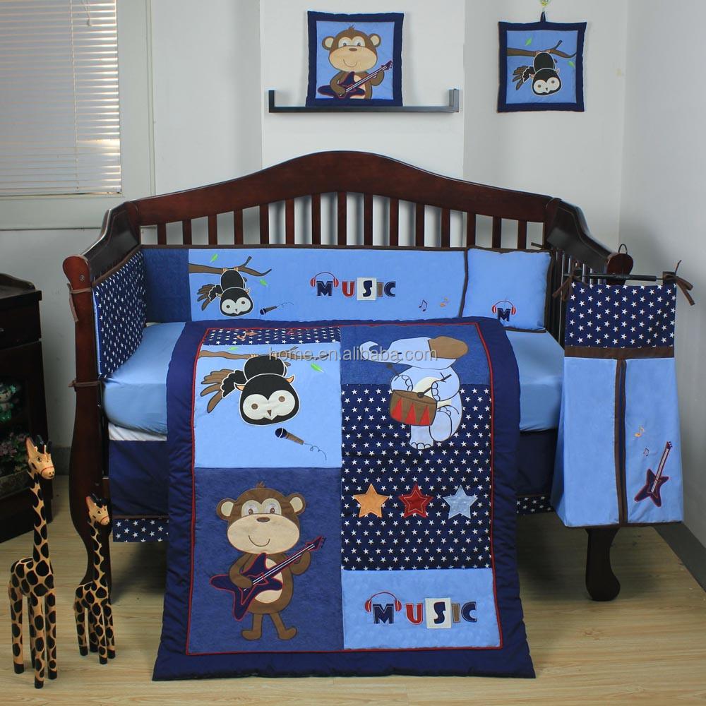 new products linda ropa de cama cuna conjunto para los nios musica partido ropa de cama bebe precioso conjunto ropa de cama buy product on alibaba