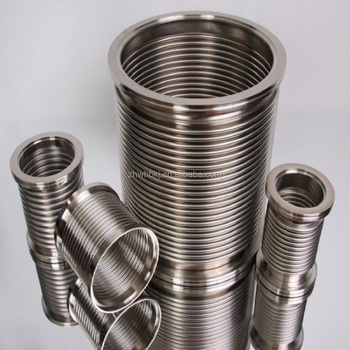 ODM OEM Custom Flexible Air Stainless Steel Metal Bellow