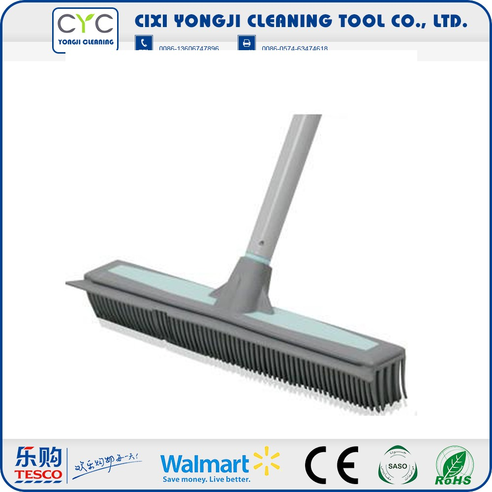 High Quality durable soft rubber cleaning broom