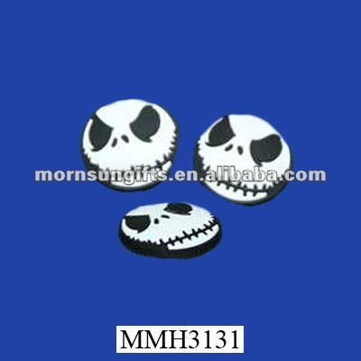 Magic skull bead flatback resin