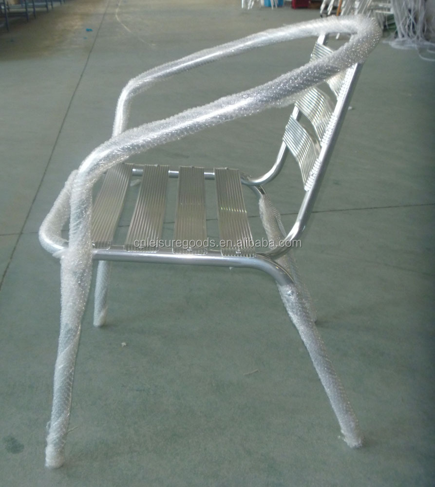 Bistro aluminium chair