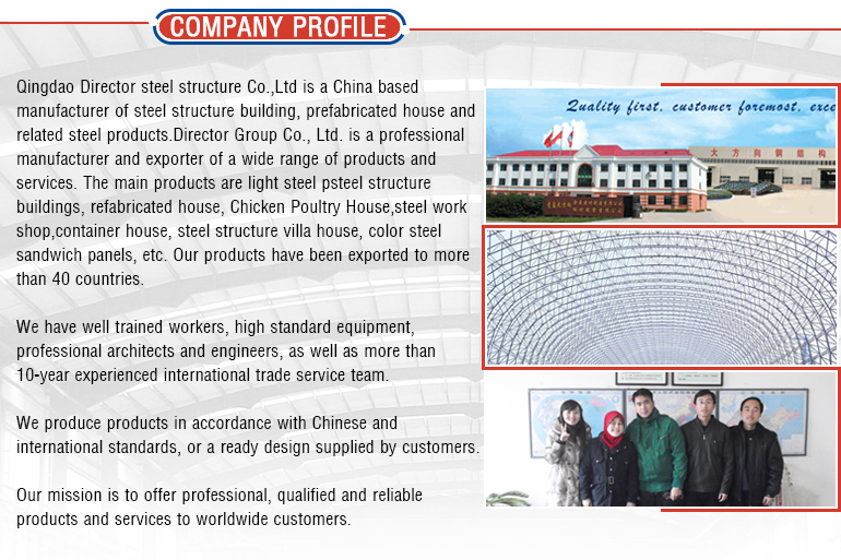 Prefabricated Steel Farm Shed Barn Building From China