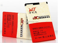 WST 1100 mAh Cell Phone Battery For Nokia BL-4U China Factory Sale Direct All Model Spice Mobile Battery For Phone