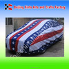 Car hood flag, puerto rico flag car hood cover