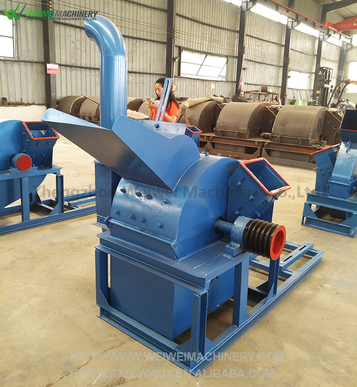 Weiwei machinery how to use bbq wood chips