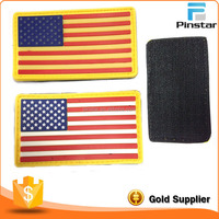 USA Flag PVC Patches No Minimum