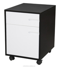 2-Drawer Mobile File Cabinet For Office Furniture