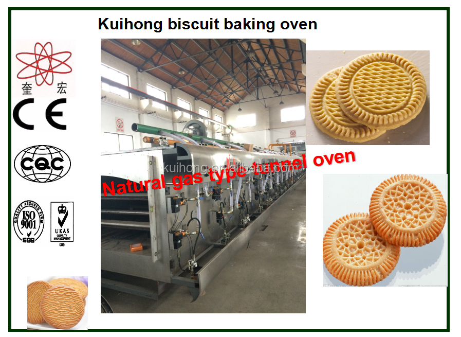 250kg/h Production Capacity Mini Biscuit Machin