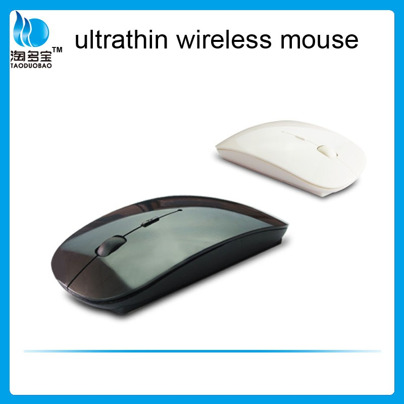 Hot selling ultra slim cpi resolution 2.4g Wireless Optical Mouse from China factory