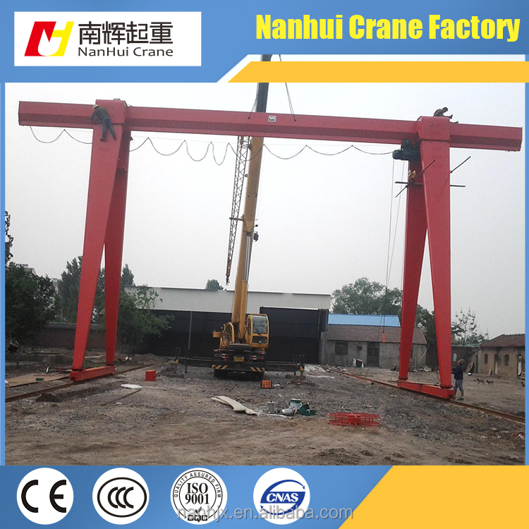 Widely used at open ground small gantry crane price container