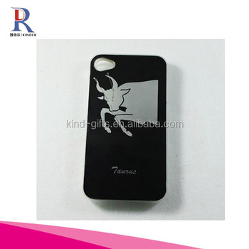 Flash Light LED Hard Case Cover 12 Constellation for iPhone 5 - Taurus