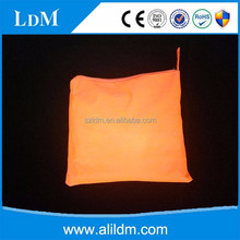 Orange work safety raincoat rain poncho manufacturer