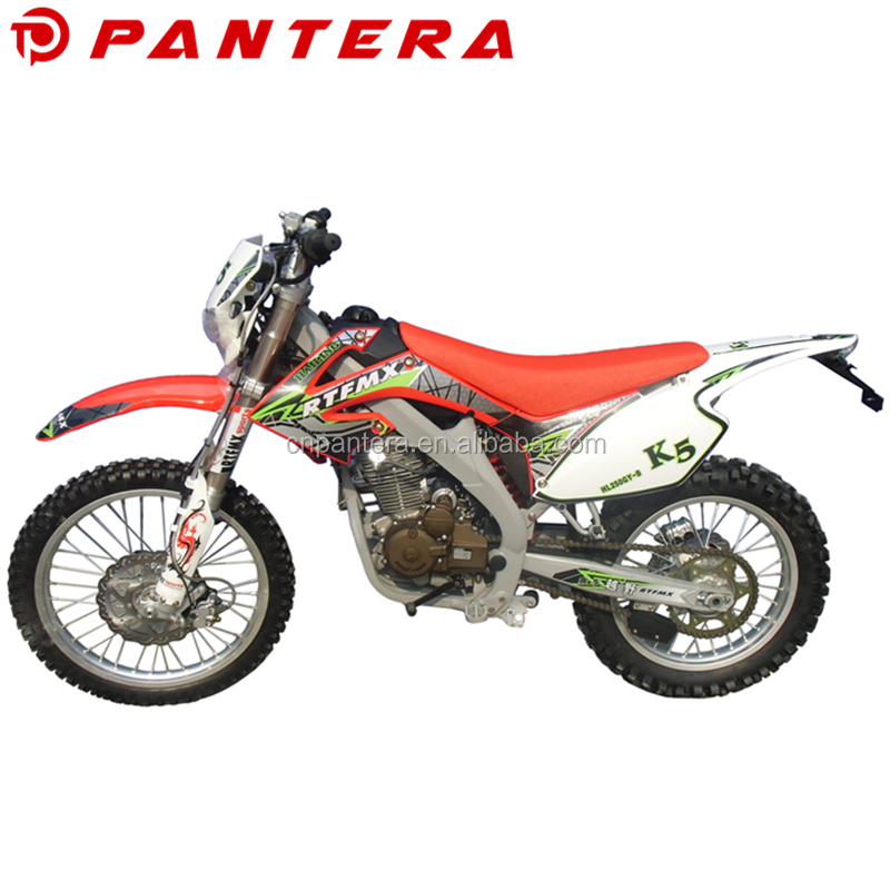 China Motorcycle Sale High Power Mini Kids 250cc Dirt Bike for Cheap Price