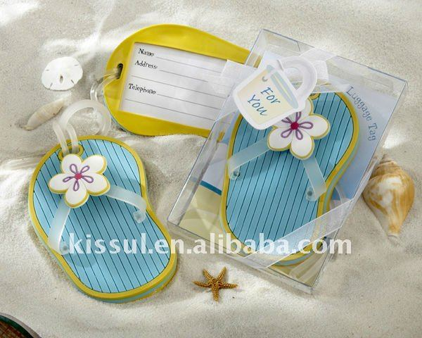 wedding gift for guests flip flop luggage tag buy wedding gift for guestswedding gift for guestswedding gifts product on alibabacom